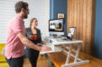 rocelco dadr sit stand desk riser