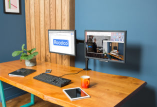 Desk Monitor Mount - Rocelco DM2