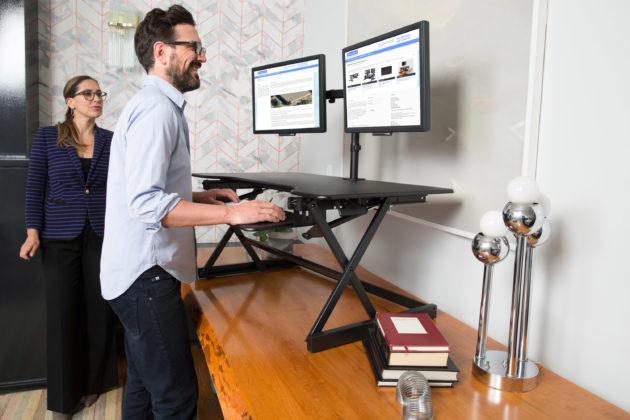 DADR-40 Sit Stand Desk Riser
