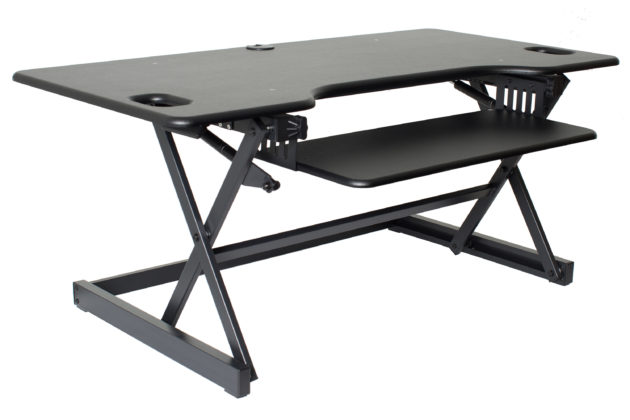 Rocelco DADR-46 - Sit Stand Desk Riser