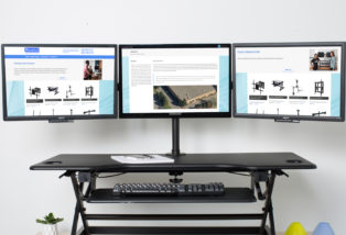 Desk Monitor Mount - Rocelco DM3