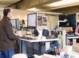 Recently Published Real-World Research Reinforces the Benefits of Sit-Stand Desks in the Workplace